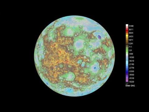 NASA's MESSENGER spacecraft data used to create Global ...