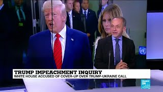 "Trump impeachment inquiry: ""The whistleblower is a CIA officer who worked at the White House"""