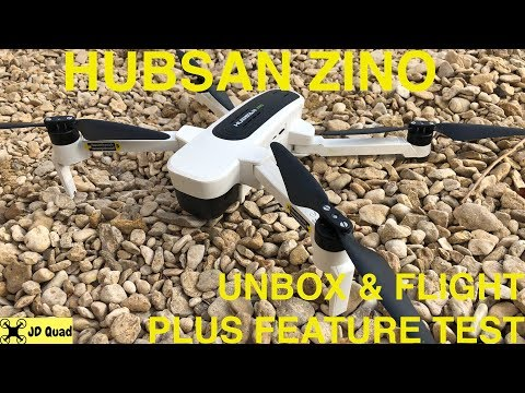 Hubsan Zino Flight Test - Courtesy of Banggood