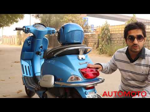 Vespa SXL 125cc | VESPA STORY | TERM REVIEW 2017 | AUTOMOTO |