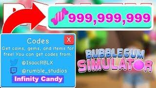 codes for bubble gum simulator 2019 april