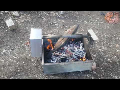 Belopalančanin napravio pokretni roštilj