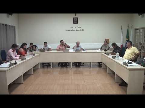 Reunião ordinária ocorrida na sede da Câmara Municipal de Água Comprida/MG - 05/02/2018