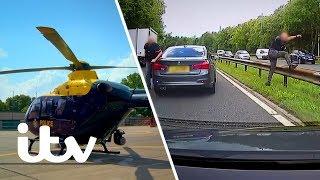 Police Hunt Down a Fleeing Murder Plot Suspect   999: Britain From Above   ITV