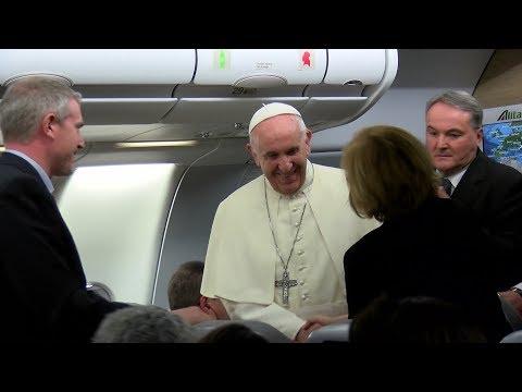 Le pape François en route pour la Birmanie et le Bangladesh