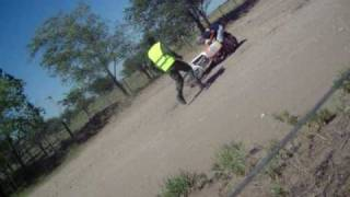 preview picture of video 'Dakar 09 - Etapa 2 - Caida'