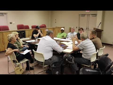 Donora Council Work Session 08-01-2019