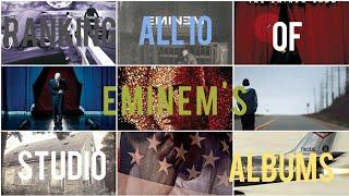 Ranking All 10 of Eminem's Studio Albums