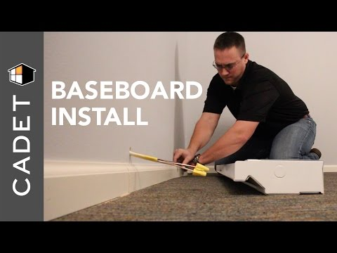 How to install a Cadet electric baseboard heater | Cadet Heat
