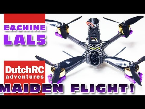 Maiden flight report of the Eachine LAL5 FPV quad! :D