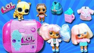 #ЛОЛ ОГРОМНЫЙ ЧЕМОДАН 60 СЮРПРИЗОВ #LOL Surprise BIGGER SURPRISE for kids Dolls КУКЛЫ с париками