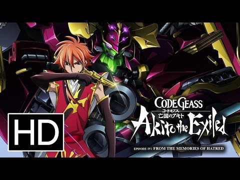Code Geass: Akito the Exiled - Memories of Hatred Trailer