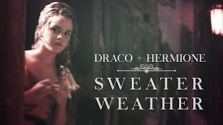 Draco + Hermione | Sweater Weather