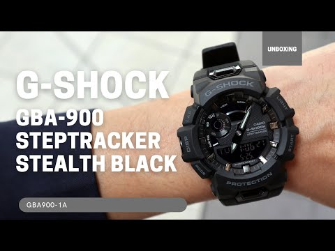 Casio G-Shock G-Squad Connected Black Watch GBA900-1A