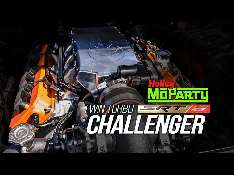 This Twin-Turbo Challenger SRT is Built for Heads-Up Drag Racing