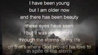 The Anchor Holds with lyrics Ray Boltz