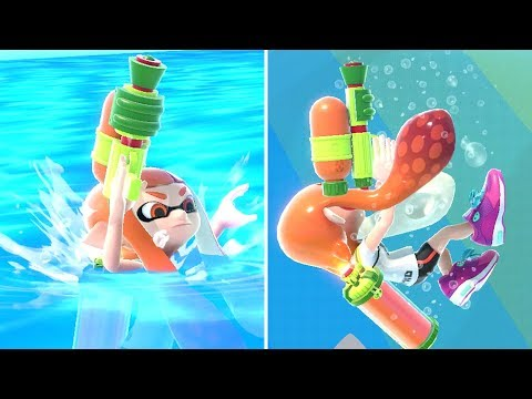Super Smash Bros. Ultimate - All Characters Swimming & Drowning Animations