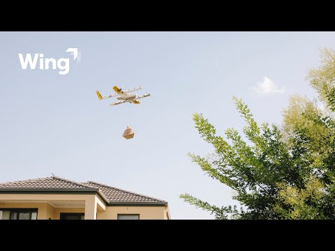 Wing testet Drohnenlieferungen in Helsinki