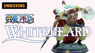 ONEPICE WHITEBEARD STATUE FIGURE UNBOXING By Tsume Art