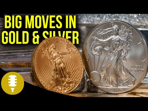 Big Moves In Gold & Silver Markets - Gold Breaks $1500