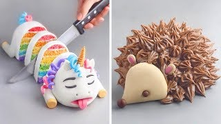 10 Cute Animal Cake Decorating Ideas For Friends | Amazing Chocolate Cake Recipes