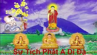 Sự Tích Phật A Di Đà Và 7 Vị Bồ Tát
