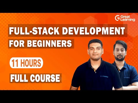 Full Stack Development for Beginners in 2021   How to become a Full Stack Developer   Great Learning