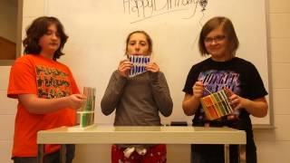 Happy Birthday With Homemade Instruments