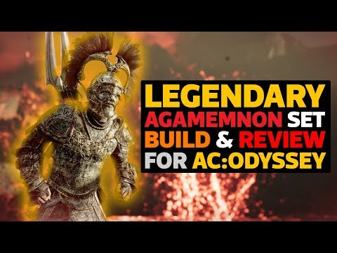 Legendary Agamemnon Set Build & Review for AC Odyssey!