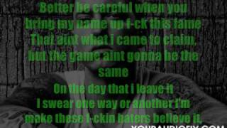 Lil Wayne - Drop the World [Eminem's verse] Lyrics on screen