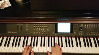 """How To Play """" By Design """" By Kid Cudi On Piano"""