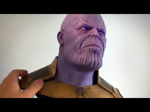 Sculpting Thanos from Avengers: Infinity War