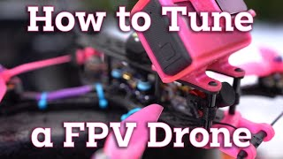 """How to Easily Tune a FPV Drone (TBS Source One 5"""")"""