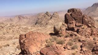 Plateau of 70 elders at Mt. Sinai