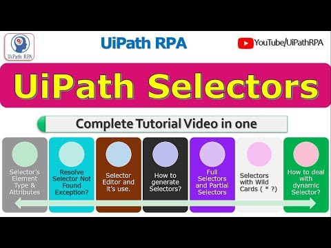 Download Uipath Selectors Tutorial How Uipath Identifies Objects
