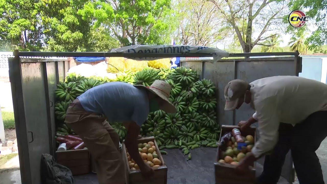 Cooperativas granmenses entregan alimentos a centros de aislamiento