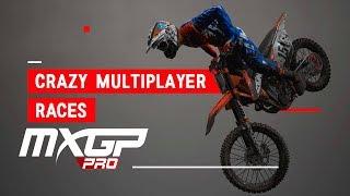 MXGP PRO - 2 CRAZY MULTIPLAYER RACES