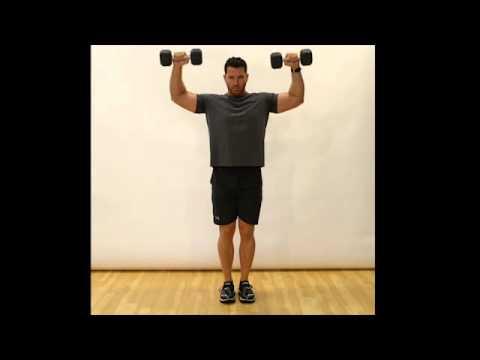 Shoulder Upright External Rotation (Dumbbells) - Standing