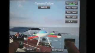 Quadcopter Drone Simulator - Take off / Boat Chasing / Landing on speeding boat