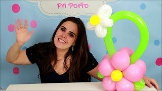 Este vídeo ensina passo a passo como fazer uma flor de balões (bexigas) para centro de mesa.  Este agrupamento de balões é chamado de topiaria e serve para vários tipos de decorações. www.amofestas.com