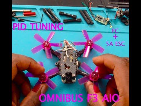 Omnibus F3 AIO PID Tuning