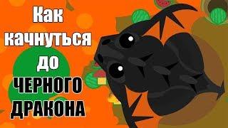 Как прокачаться до Черного Дракона в мопе ио Mope.io ? Пошаговая инструкция!