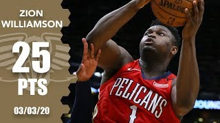 Zion Williamson scores 25 points in Pelicans vs. Timberwolves | 2019-20 NBA Highlights