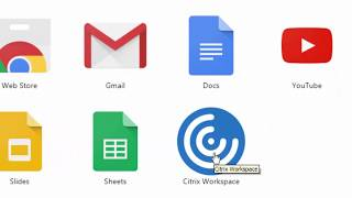 Intalling and Using the Citrix Workspace in Chrome -