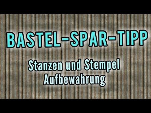 Bastel-Spar-Tipps   Stempel & Stanzen Aufbewahrung   Magnet Sheets von Action