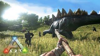 ARK: Survival Evolved - TAMING DINOSAURS!! (ARK Ragnarok Gameplay)