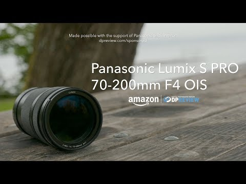 External Review Video MSQL9Ne3OPs for Panasonic Lumix S Pro 70-200mm F4 OIS Lens (S-R70200)