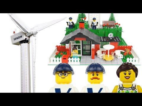 LEGO instructions - Creator Expert - 10268 - Vestas Wind