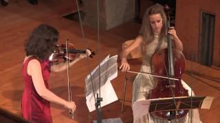 Peteris Vasks DUO, First Performance, Kopatchinskaja   Gabetta Live from Gstaad Menuhin Festival Aug