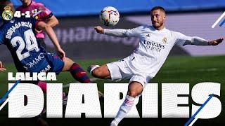 ⚽✌ Real Madrid 4-1 Huesca | Hazard goal & Benzema brace!